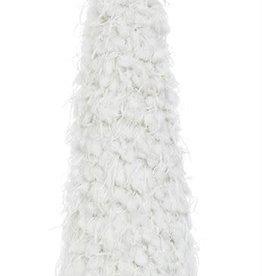 "Fleurish Home Lg White Fabric Tree (19"")"