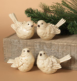 Fleurish Home White Winter Bird (choice of 4 style)