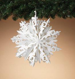 """Fleurish Home Sm Hanging Paper Snowflake (11.8"""")"""