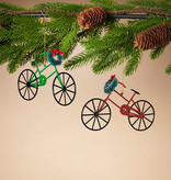 Fleurish Home Holiday Bicycle Ornament (choice of 2 styles)