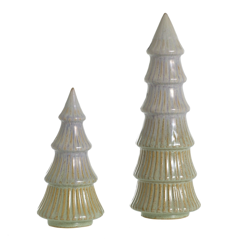 Fleurish Home Vermont Glazed Ceramic Tree