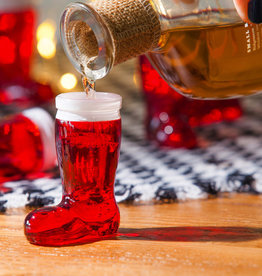 Fleurish Home Santa Boot Shot Glass