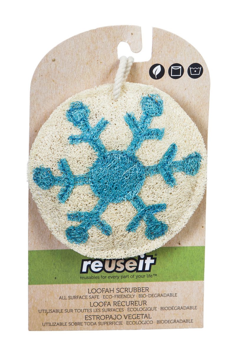 Fleurish Home Holiday Reuseit Scrubber (choice of 6 designs)