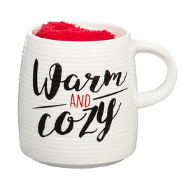 Fleurish Home Warm and Cozy Mug & Socks Set
