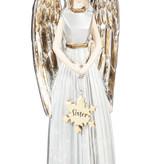 Fleurish Home Hand Painted Angel