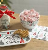 Fleurish Home Whimical Christmas Trees Cookies for Santa Set