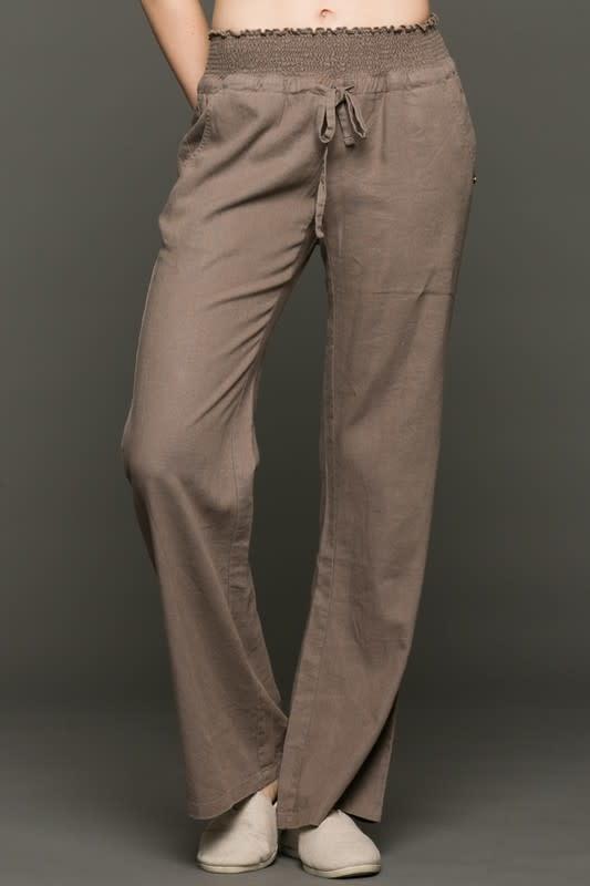Fleurish Home Wide Leg Linen Blend Pants *last chance