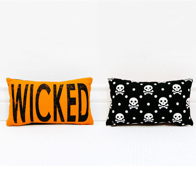 Fleurish Home Wicked Pillow