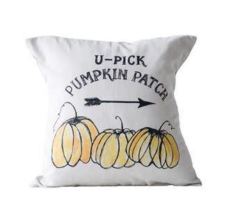 Fleurish Home U-Pick Pumpkin Patch Pillow