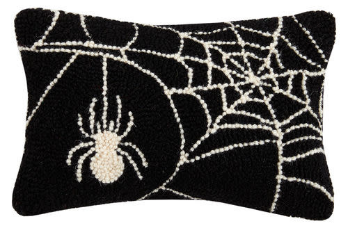 Fleurish Home Spider Web Hook Pillow