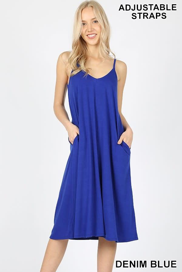 Fleurish Home Cami Dress w Pockets