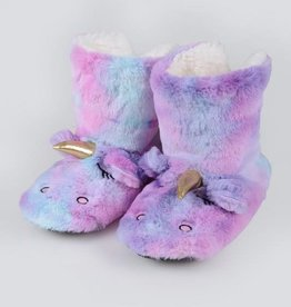 Fleurish Home Unicorn Slippers