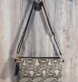 Fleurish Home Animal Print Crossbody/ Clutch Bag *last chance