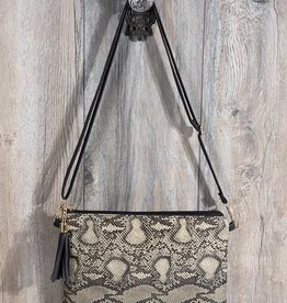 Fleurish Home Animal Print Crossbody/ Clutch Bag