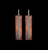 EllaJude Long Mixed Metal Earrings