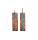 Long Mixed Metal Earrings