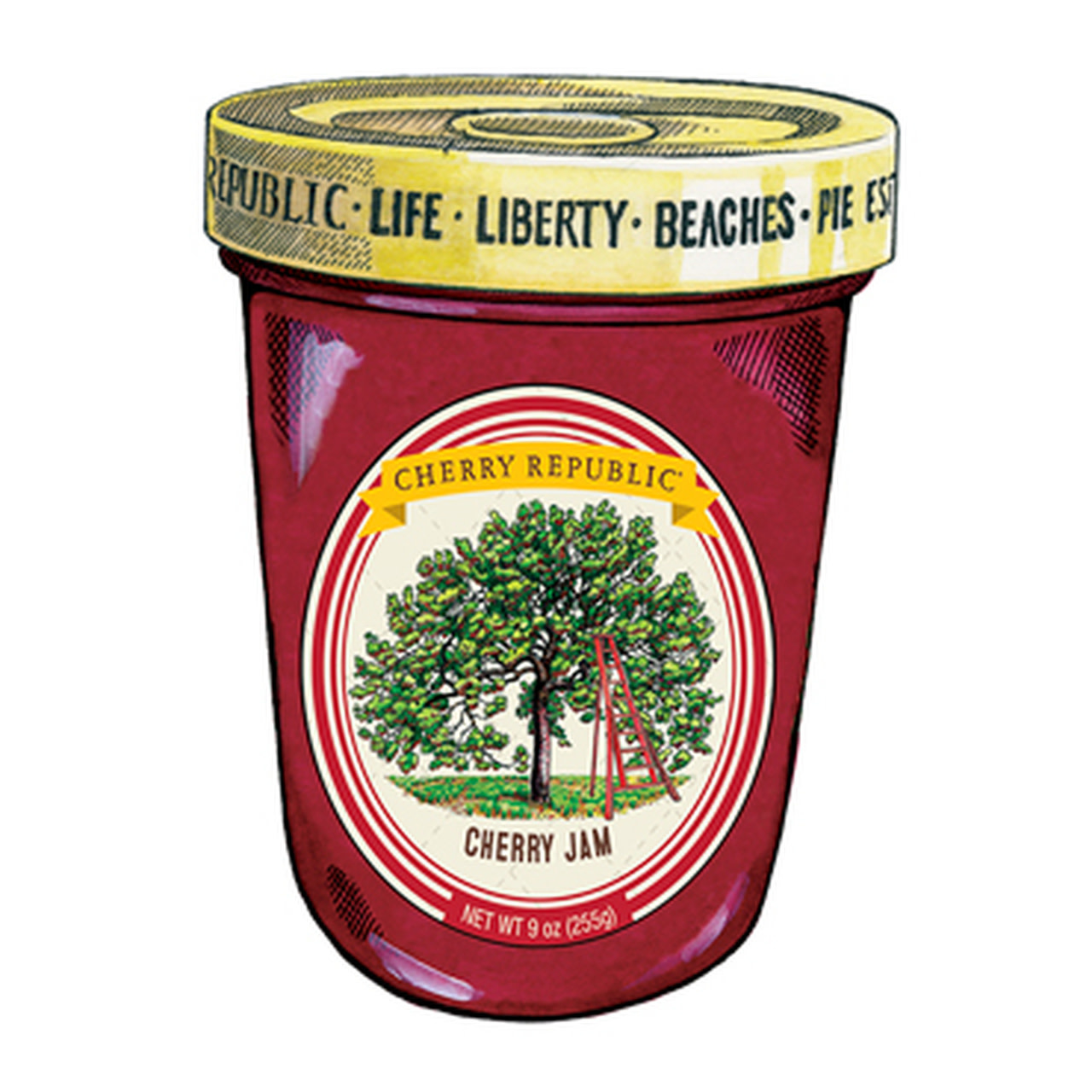 Cherry Republic Cherry Republic Cherry Jam 8.5oz