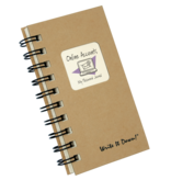 Fleurish Home Mini Passwords Journal