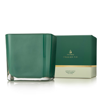Thymes Frasier Fir Grand Noble Medium Emerald Poured Candle