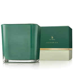 Thymes Frasier Fir Grand Noble Large Emerald Poured Candle