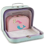 Mudpie MERMAID SUITCASES (Set of 3)