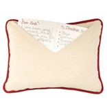 Mudpie SANTA ENVELOPE PILLOW