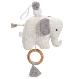 Mudpie ELEPHANT MUSICAL PULL
