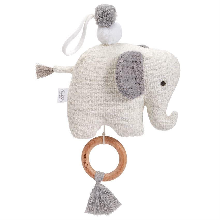 Mudpie ELEPHANT MUSICAL PULL