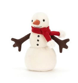 Jellycat Merry Snowman (Red Scarf)