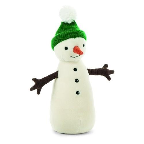 Jellycat Jolly Snowman (Green Hat)