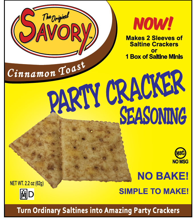 Savory Fine Foods Savory Cinnamon & Sugar Party Cracker Seasoning Mix
