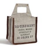 Mona B Drink Up Retirement Beer Caddy