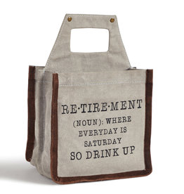 Mona B Drink Up Retirement Beer Caddy