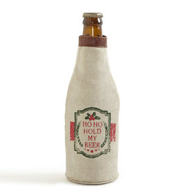 Mona B Ho Ho Hold My Beer Bottle Koozie