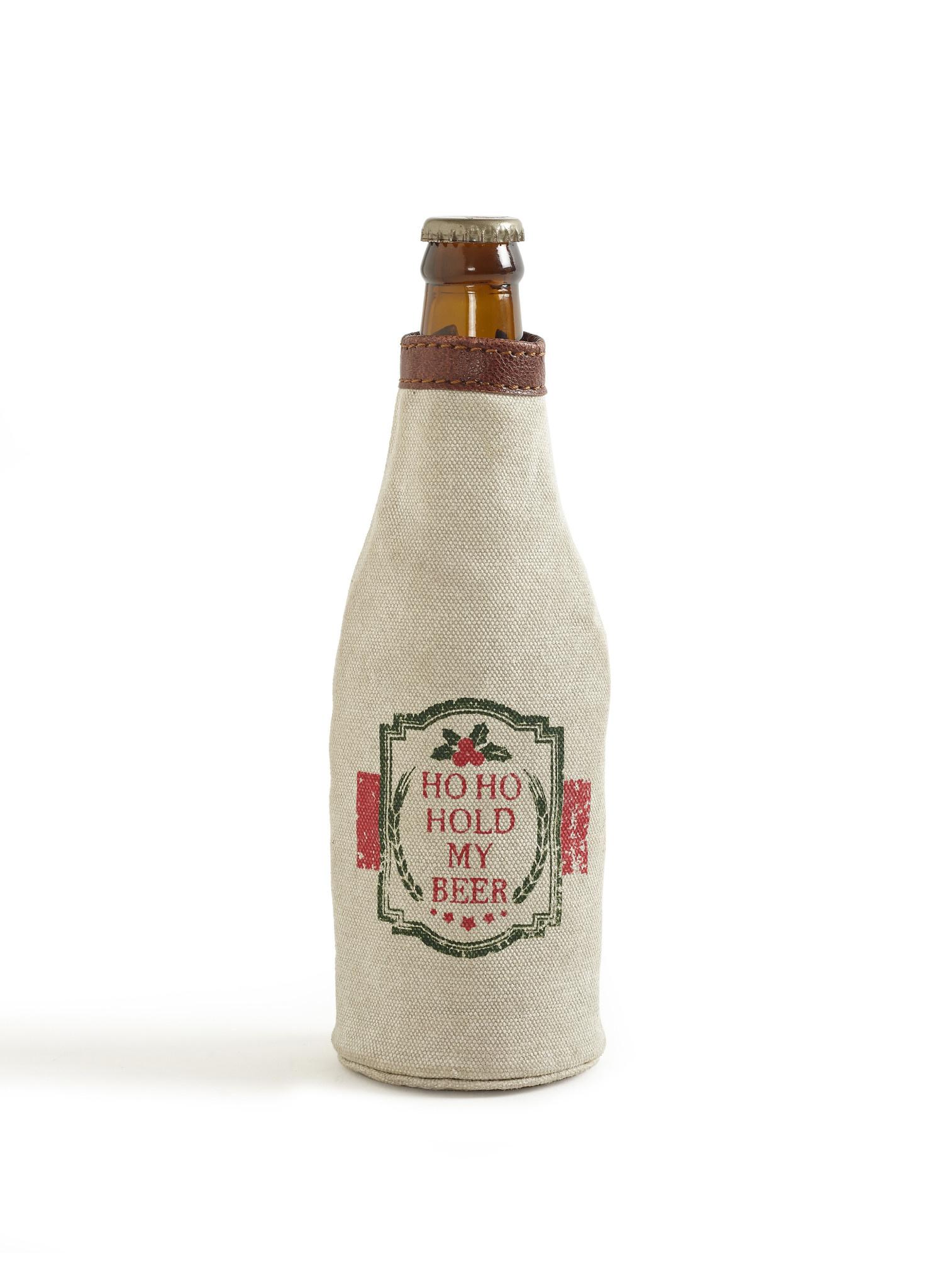 Mona B Ho Ho Hold My Beer Bottle Koozie