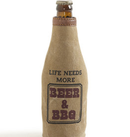 Mona B BBQ & Beer Bottle Koozie