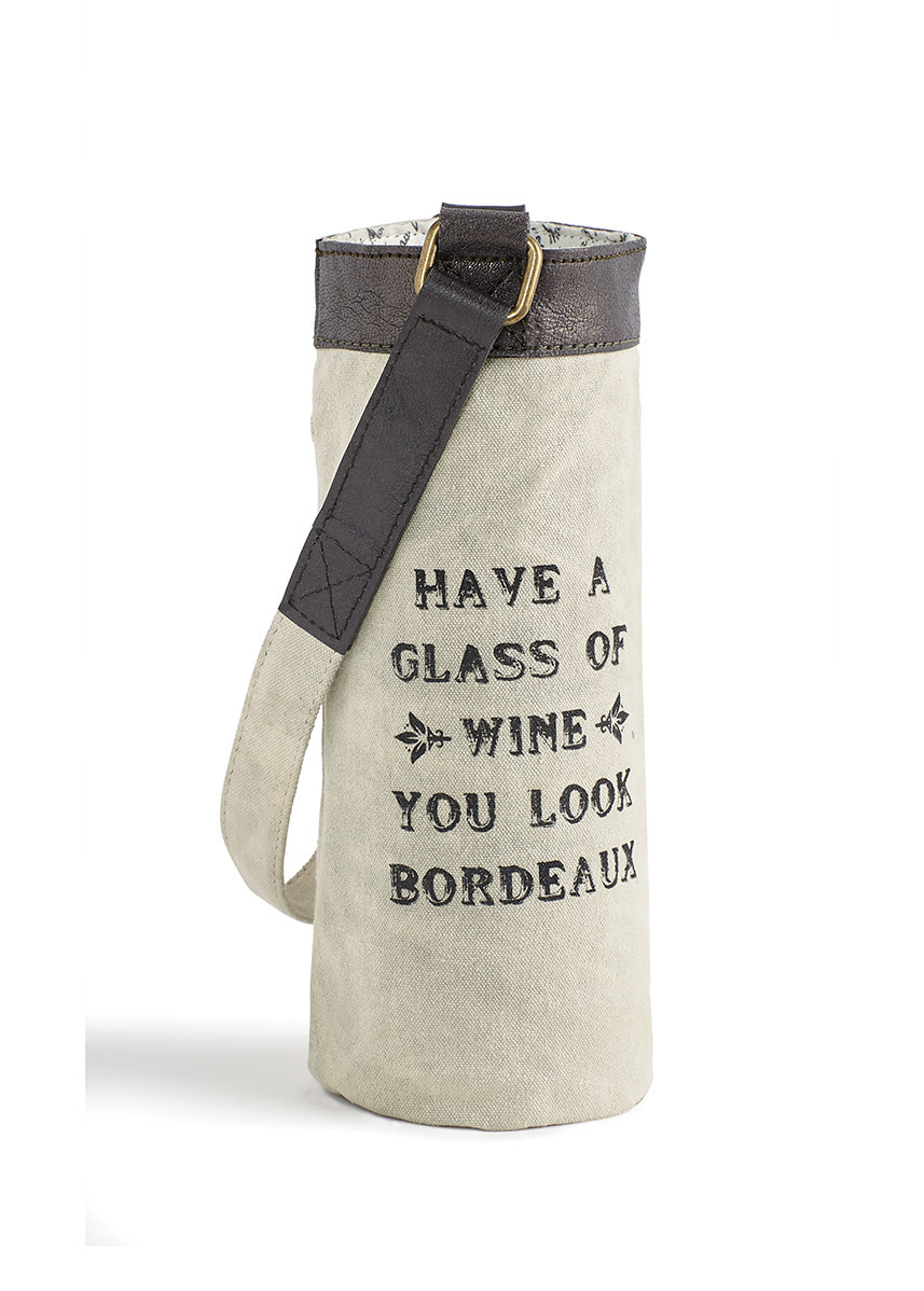 Mona B Bordeaux Wine Bag