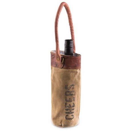 Mona B Cheers Wine Bag