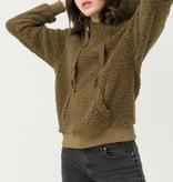 Fleurish Home Teddy Bear Fleece Hoody Pullover Sweater