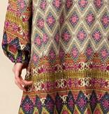 Fleurish Home Boho Mixed Print Dress
