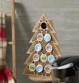 Fleurish Home Lit Coffee Pod Countdown Tree