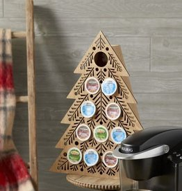 Fleurish Home Lit Coffee Pod Countdown Tree