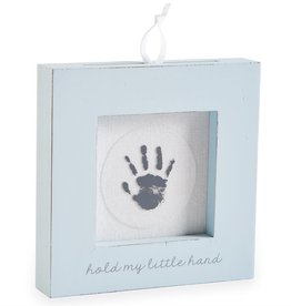 Mudpie BLUE HAND AND FOOT PRINT FRAME