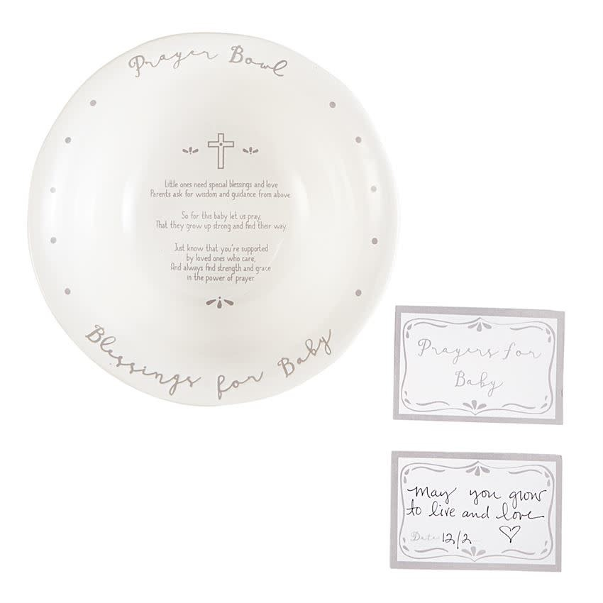 Mudpie PRAYER BOWL GRAY
