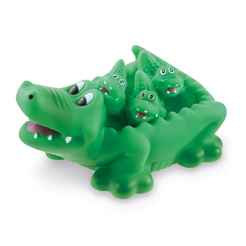 Mudpie ALLIGATOR BATH TOY SET