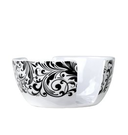 Michel Design Works Black Florentine Melamine Serveware Sponge Holder