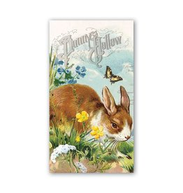 Michel Design Works Bunny Hollow Hostess Napkin