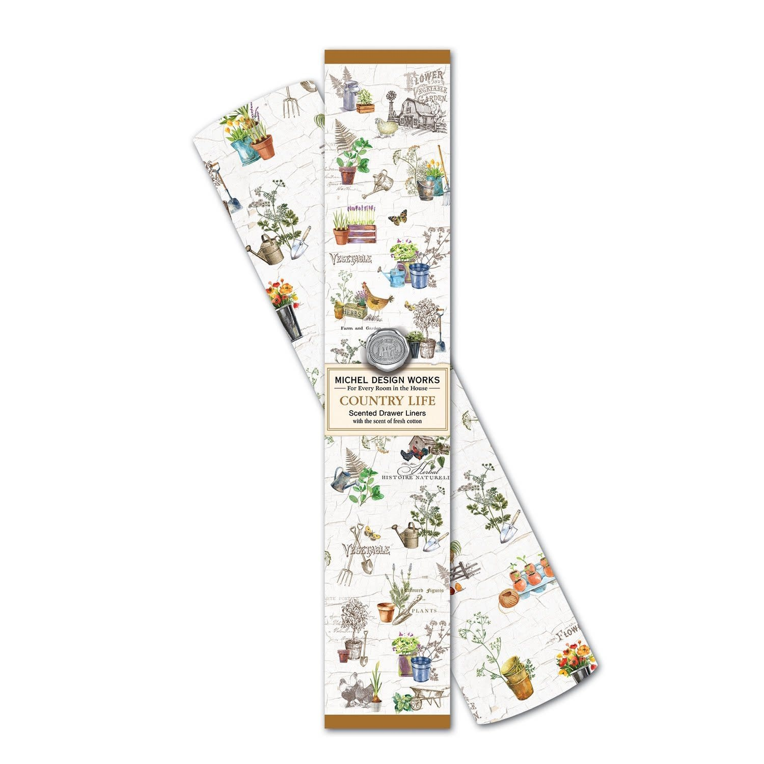 Michel Design Works Country Life Drawer Liner