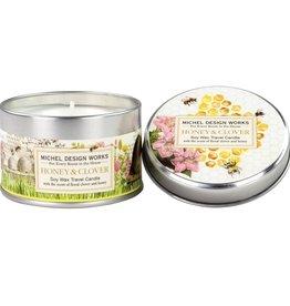Michel Design Works Honey & Clover Travel Candle
