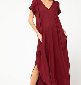 Fleurish Home Long Jersey Knit Dress